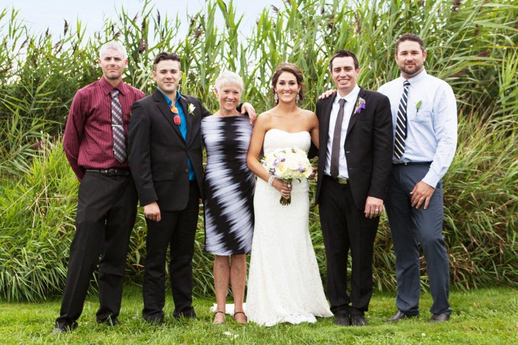 Wedding photo, family